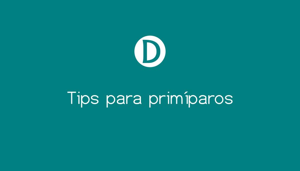tips para primíparos